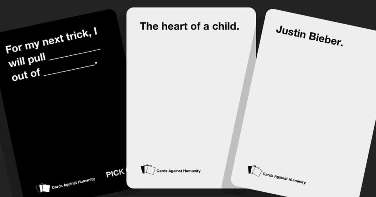 Игра за хора с черно чувство за хумор